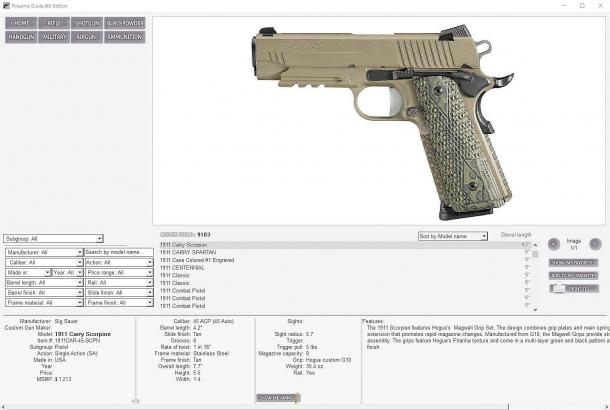 ...for a modern autoloading handgun...