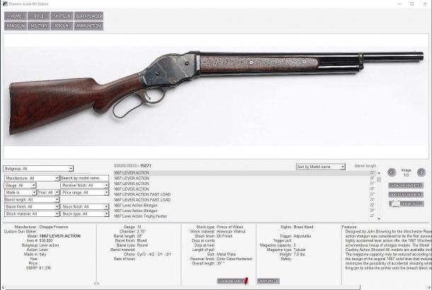 ...per un'arma da caccia...