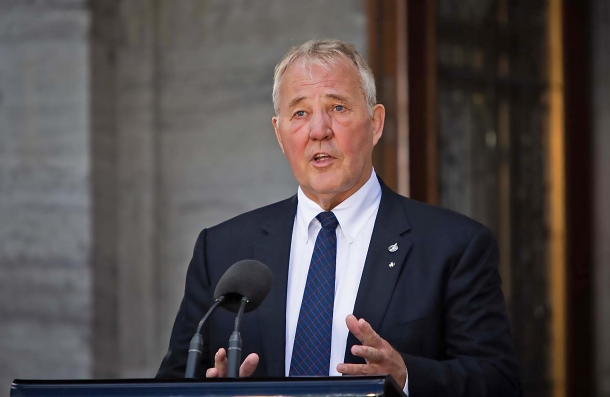 William Sterling Blair, Ministro canadese per la Sicurezza dei Confini e la Riduzione del Crimine Organizzato