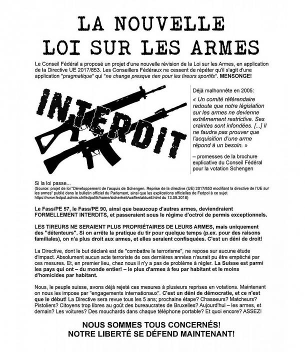 Perso il referendum sulle armi in Svizzera