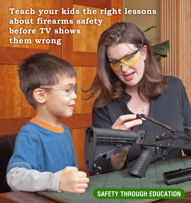It is the job of every parent to guide their children about gun safety and gun knowledge