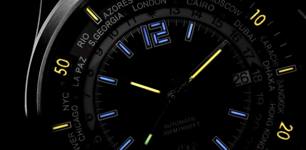 Tritium is used in sport and tactical watches as well