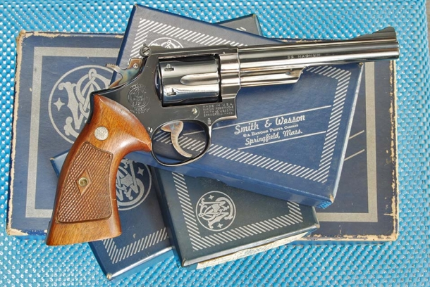 Smith & Wesson 53 calibro .22 Remington Jet
