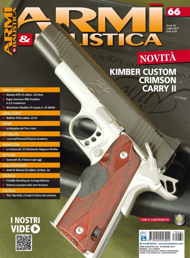 Armi & Balistica: in edicola il numero di luglio 2017