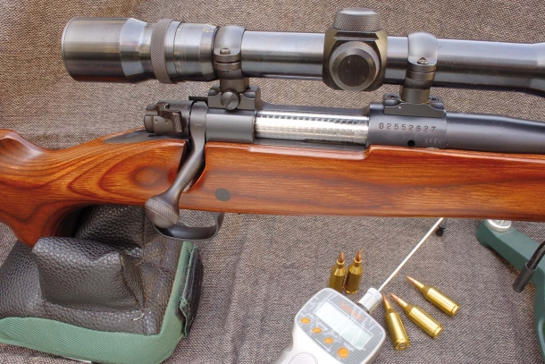 Winchester 70 Varmint in calibro .223 WSSM
