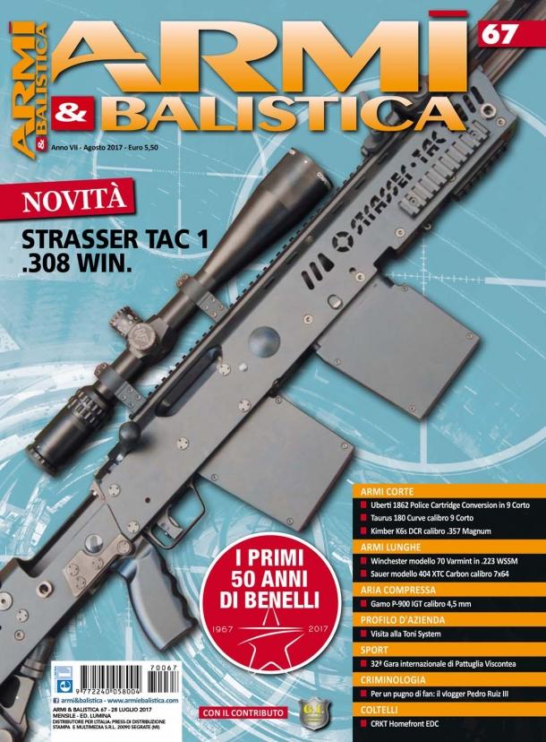Armi & Balistica: è in edicola il numero di agosto 2017