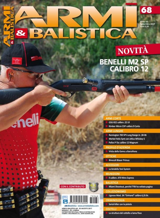 Armi & Balistica: è in edicola il numero di settembre 2017