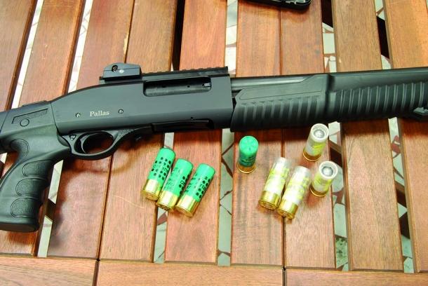 Pallas P-Tac calibro 12 Magnum
