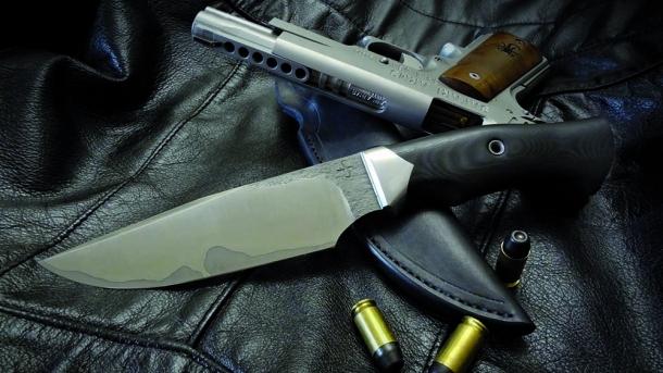 La struttura del coltello a lama fissa
