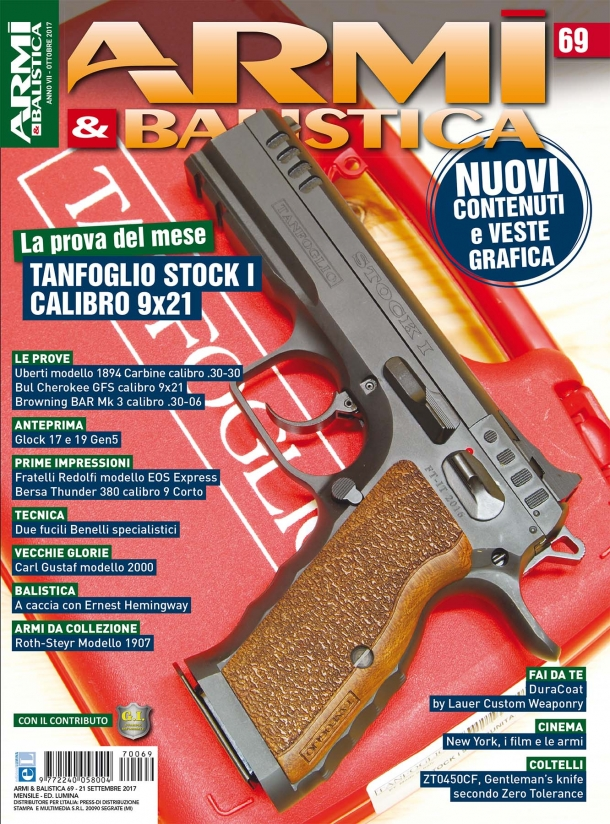 ARMI & BALISTICA: in edicola il numero di ottobre