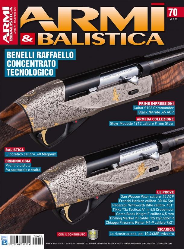 ARMI & BALISTICA: in edicola il numero di novembre