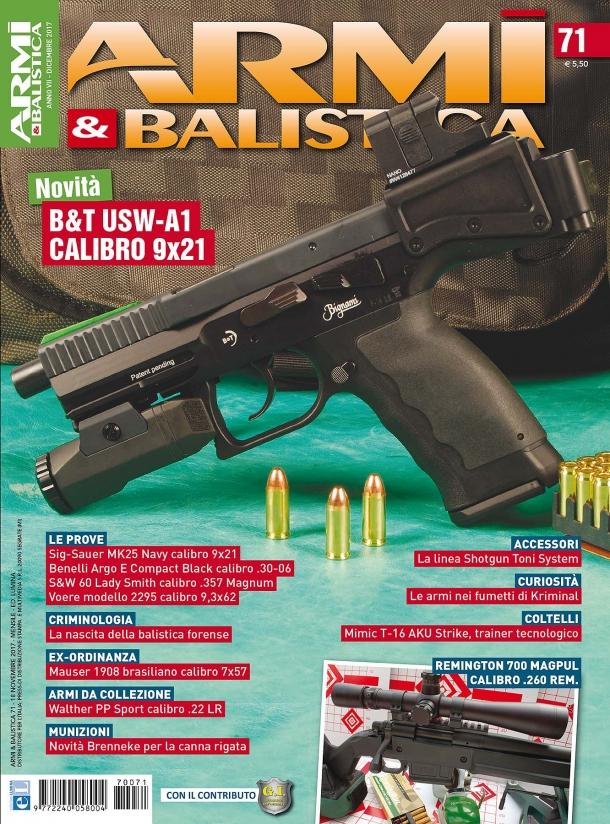ARMI & BALISTICA: in edicola il numero di dicembre