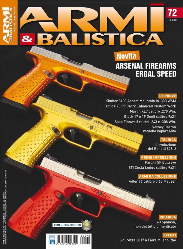 ARMI & BALISTICA: in edicola il numero di gennaio