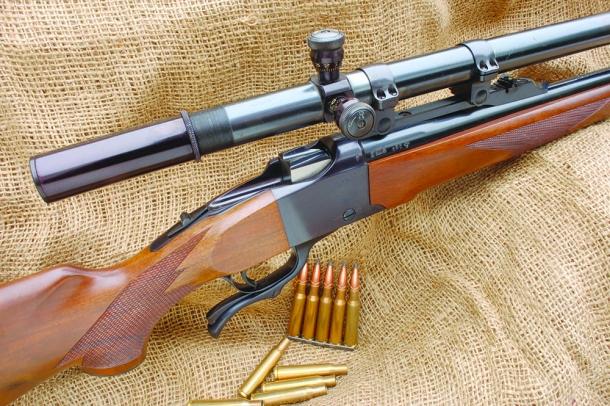 Ruger no.1 calibro 7x57 Mauser