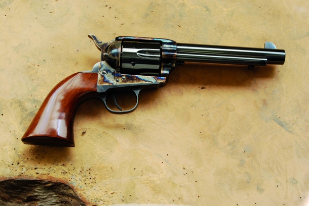 correggere il tiro dei revolver single action