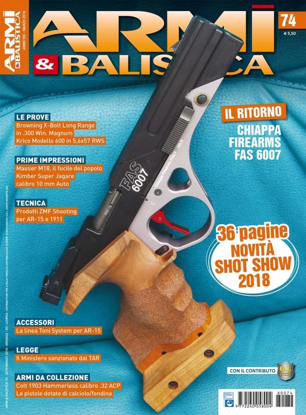 ARMI & BALISTICA: in edicola il numero di marzo