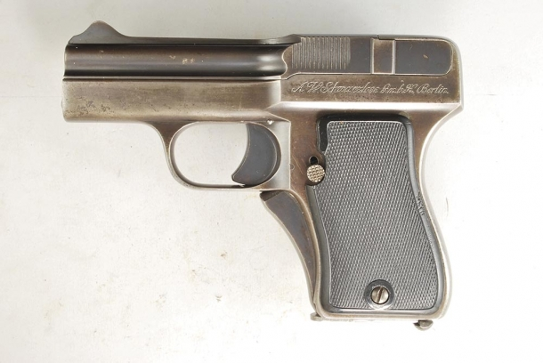 Schwarzlose modello 1908 calibro 7,65 BR.