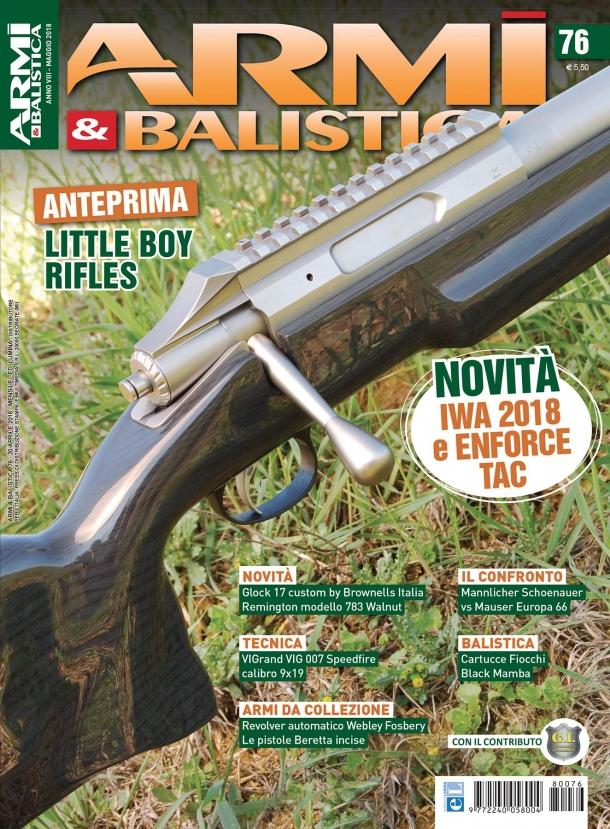 ARMI & BALISTICA: in edicola il numero di maggio