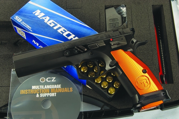 CZ modello 75 tactical sports orange calibro .40 S&W