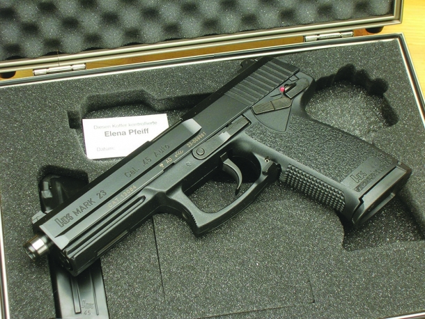 Heckler & Koch Mark 23 calibro .45 ACP