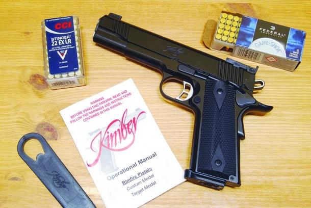Kimber Rimfire target calibro .22 LR