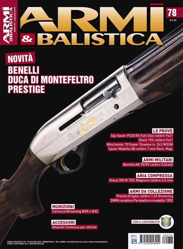 Armi & Balistica: è in edicola il numero 78 di luglio 2018