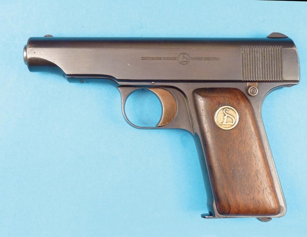 Pistola Ortgies calibro 7,65 Browning