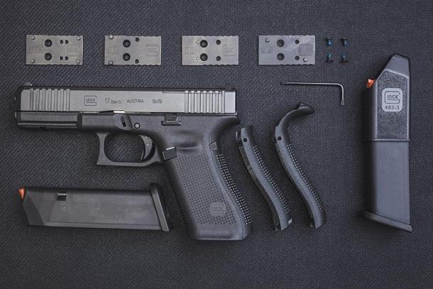 Glock G45 Gen5 e G17, G19 e G34 MOS Gen5