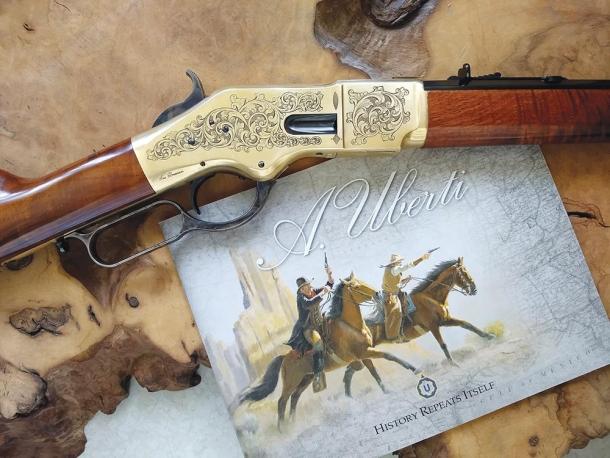 Uberti modello 1866 short rifle calibro .45 Colt