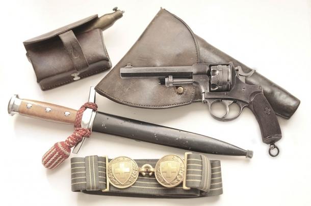 Revolver d'ordinanza svizzero modello 1878
