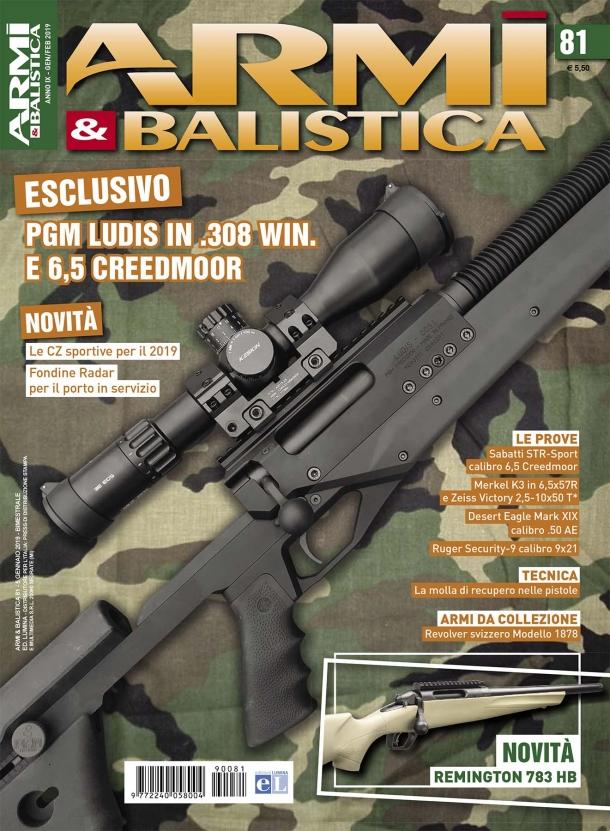 ARMI & BALISTICA: in edicola il numero di gennaio-febbraio