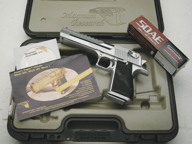 Desert Eagle Mark XIX calibro .50 AE