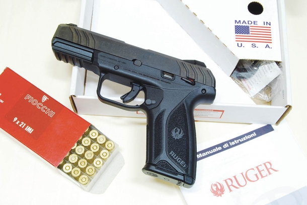 Ruger security-9 calibro 9x21