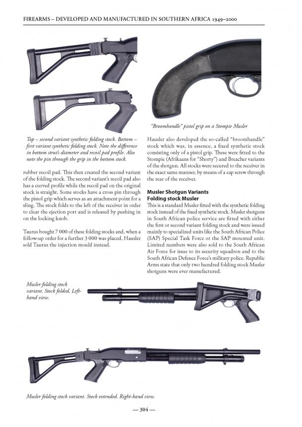 L'associazione collezionisti d'armi e munizioni di Pretoria ha lavorato per otto anni e mezzo per raccogliere le informazioni necessarie