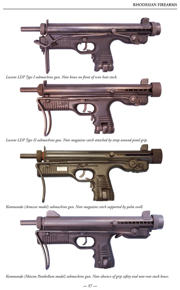 The volume covers the civilian and military-grade firearms engineered and manufactured in South Africa and Rhodesia from the year 1949 and up to the end of the Twentieth Century