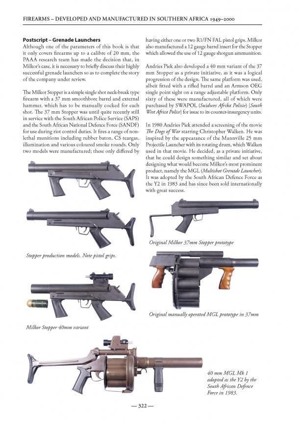 Il libro è ricco di interessantissimi excursus su armi che esulano dalla trattazione, come approfondimento