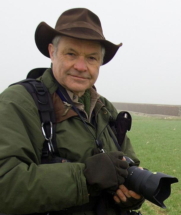 The author: Michael St Maur Sheil