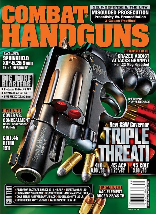 Combat Handguns, one popular magazine from Harris Publications