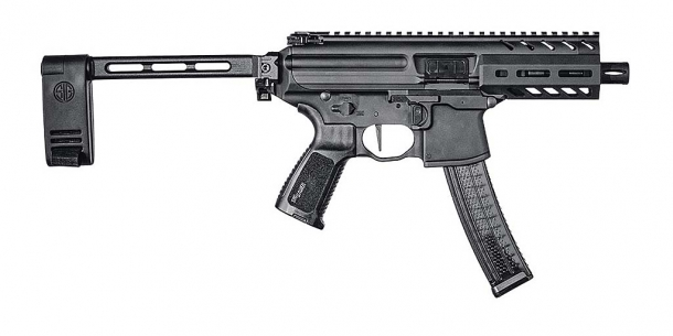 ...as well as all the variants of the pistol-caliber SIG Sauer MPX...