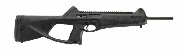 ...and even the Beretta Cx4 Storm pistol-caliber carbine, a purely sporting purposes gun!