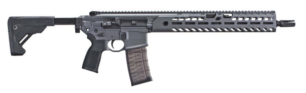 The list of banned firearms also includes all the variants of the SIG Sauer MCX...