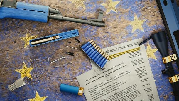 In ambito UE, questa politicizzazione si è vista soprattutto nell'iter di modifica della direttiva europea sulle armi