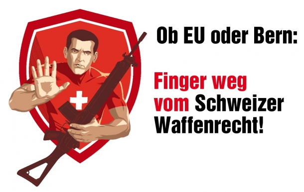 Even Switzerland sees its historic, quintessential gun rights threatened by the European directive