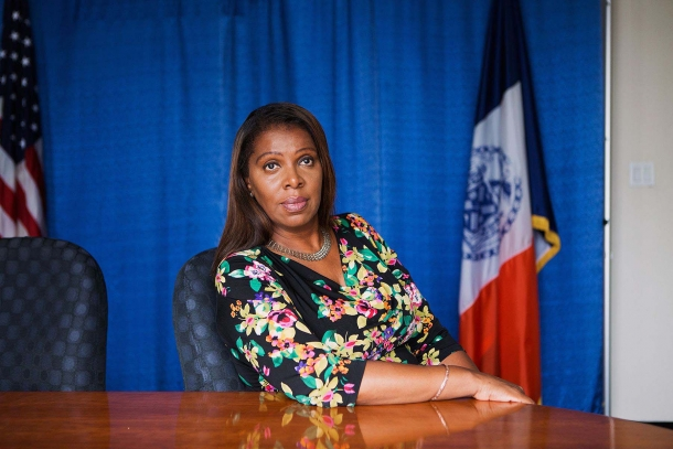 Letitia James, the democrat Attorney General of the State of New York, announced the civil lawsuit on Thursday, August 6th