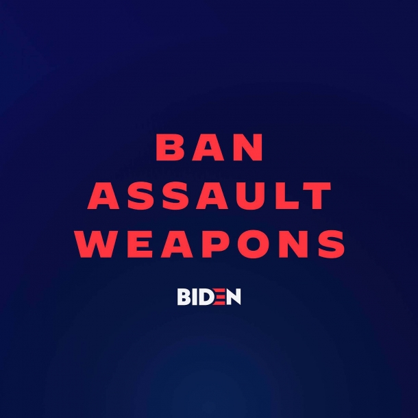 "The NY lawsuit comes just as democrat presidential runner Joe Biden announced that, if elected, he will seek to ban ""assault weapons"" – a.k.a. modern sporting firearms"