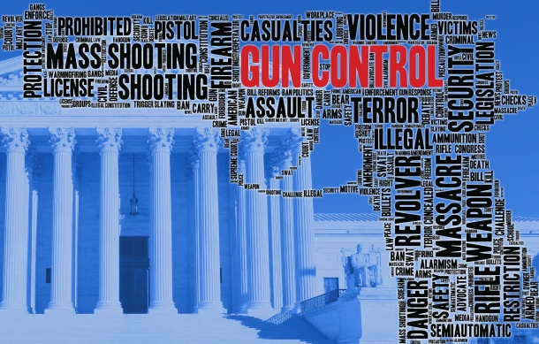 Gun control is a highly polarizing political topic in the United States