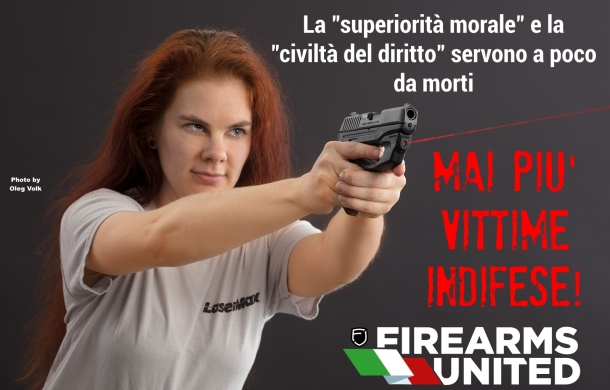 La foto usata da Firearms United - Italia per illustrare l'editoriale