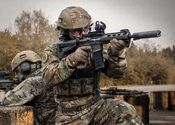 Haenel MK 556: la Germania rimpiazza il fucile d'assalto Heckler & Koch G36!