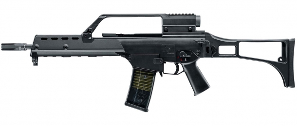 The Haenel MK 556 replaces the G36, whose accuracy and reliability reportedly suffered from extensive use in high temperatures