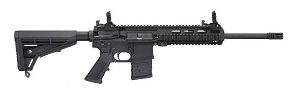 Fucile d'assalto Haenel MK 556 in versione a canna lunga con astina Picatinny – lato destro